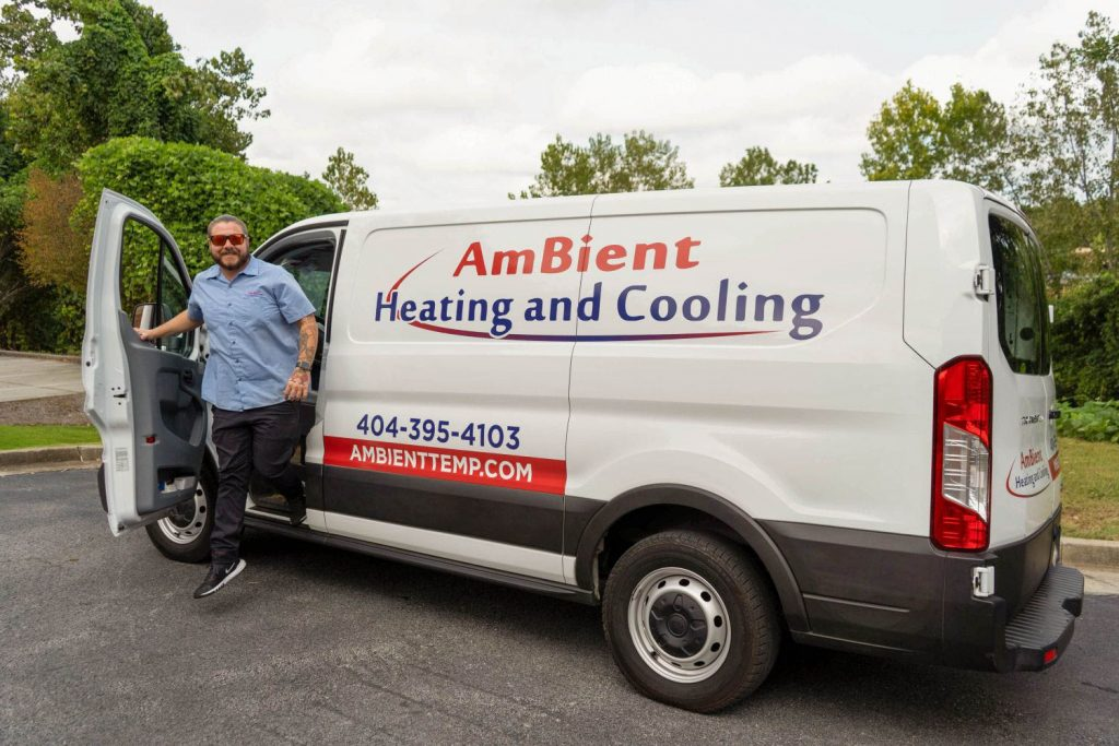 Cumming HVAC Professional Service Vehicle | Cumming AmBient Heating and Cooling